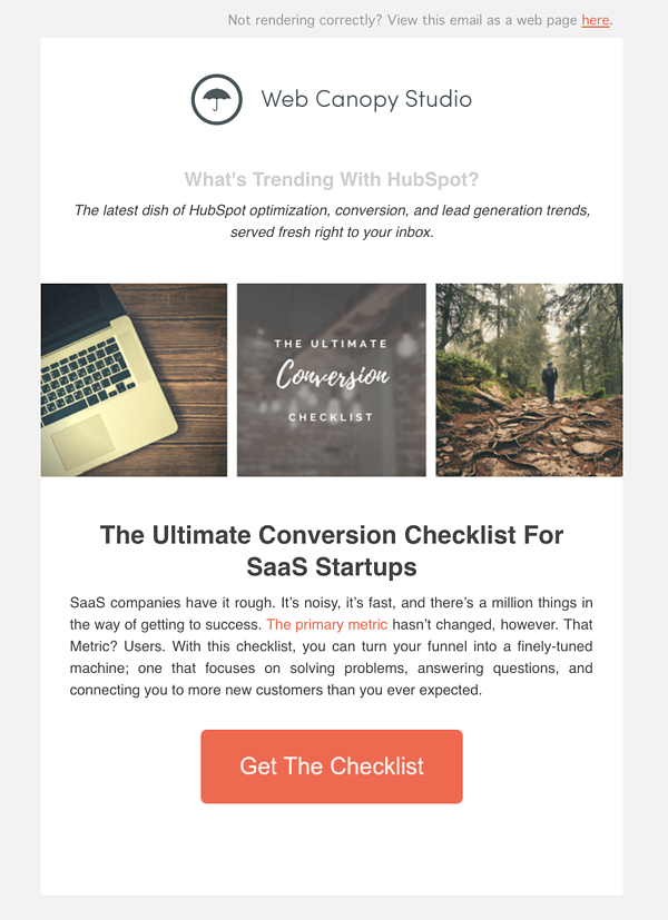 Sonat by HubSpot Marketing Email