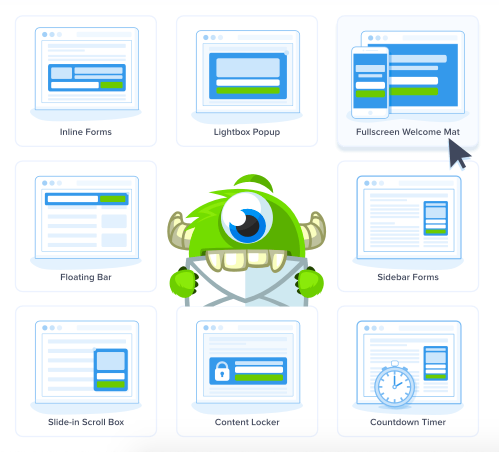 OptinMonster email management