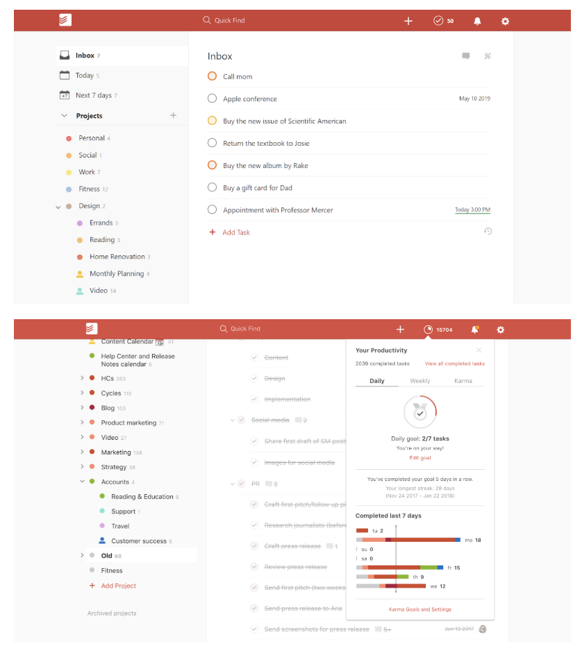 todoist-free-project-management