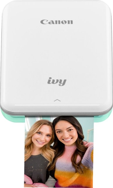 Canon - IVY Mini Photo Printer - Mint Green - Front_Zoom. 1 of 13 Images & Videos. Swipe left for next.