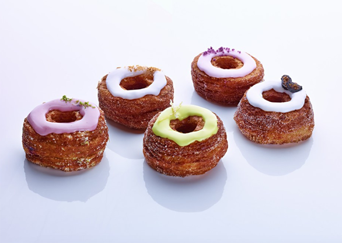 Picture of a cronut