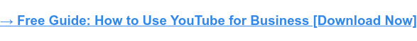 → Free Guide: How to Use YouTube for Business [Download Now]