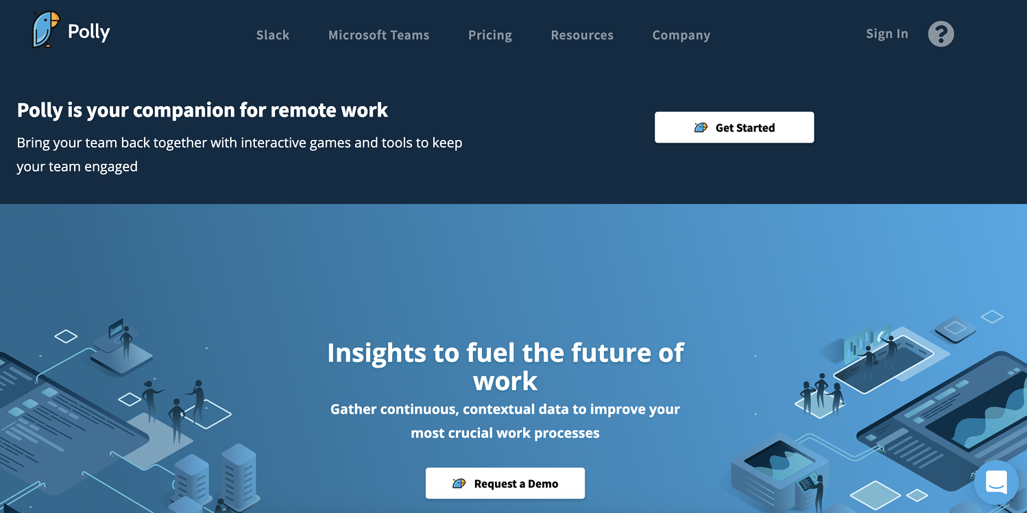 polly.ai remote work tool
