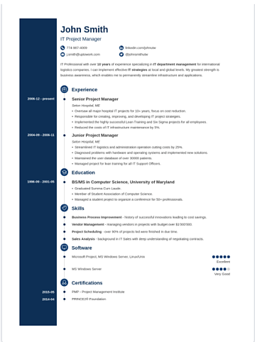 Concept Resume Template