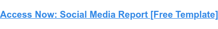 Access Now: Social Media Report [Free Template]