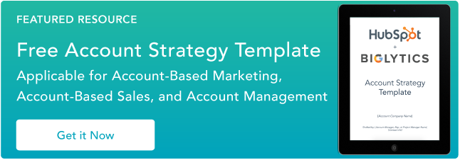 account plan template