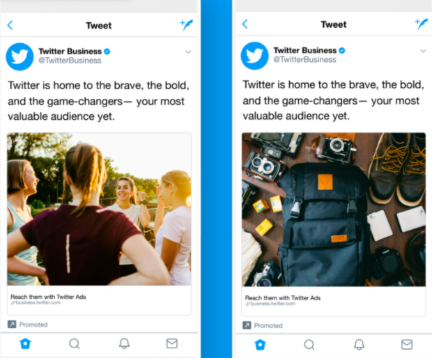 A Twitter A/B test example