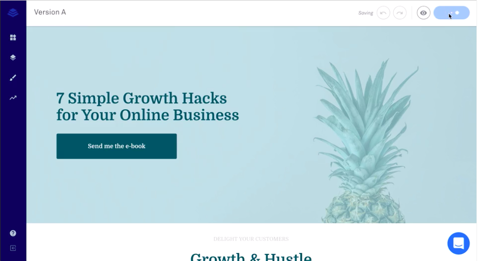 Leadpages A/B test