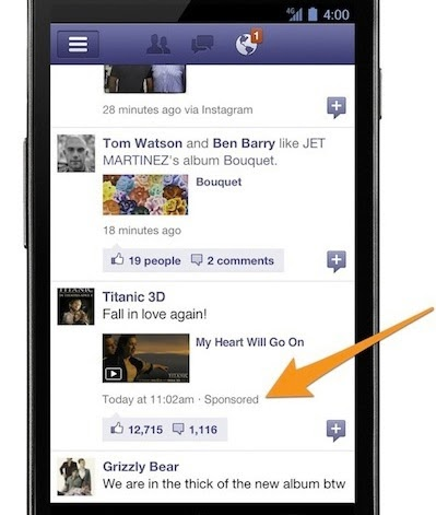 The history of Facebook Ads mobile