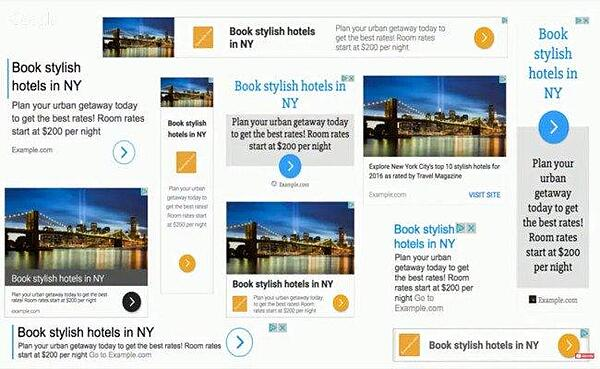 examples of google display ads responsive formats