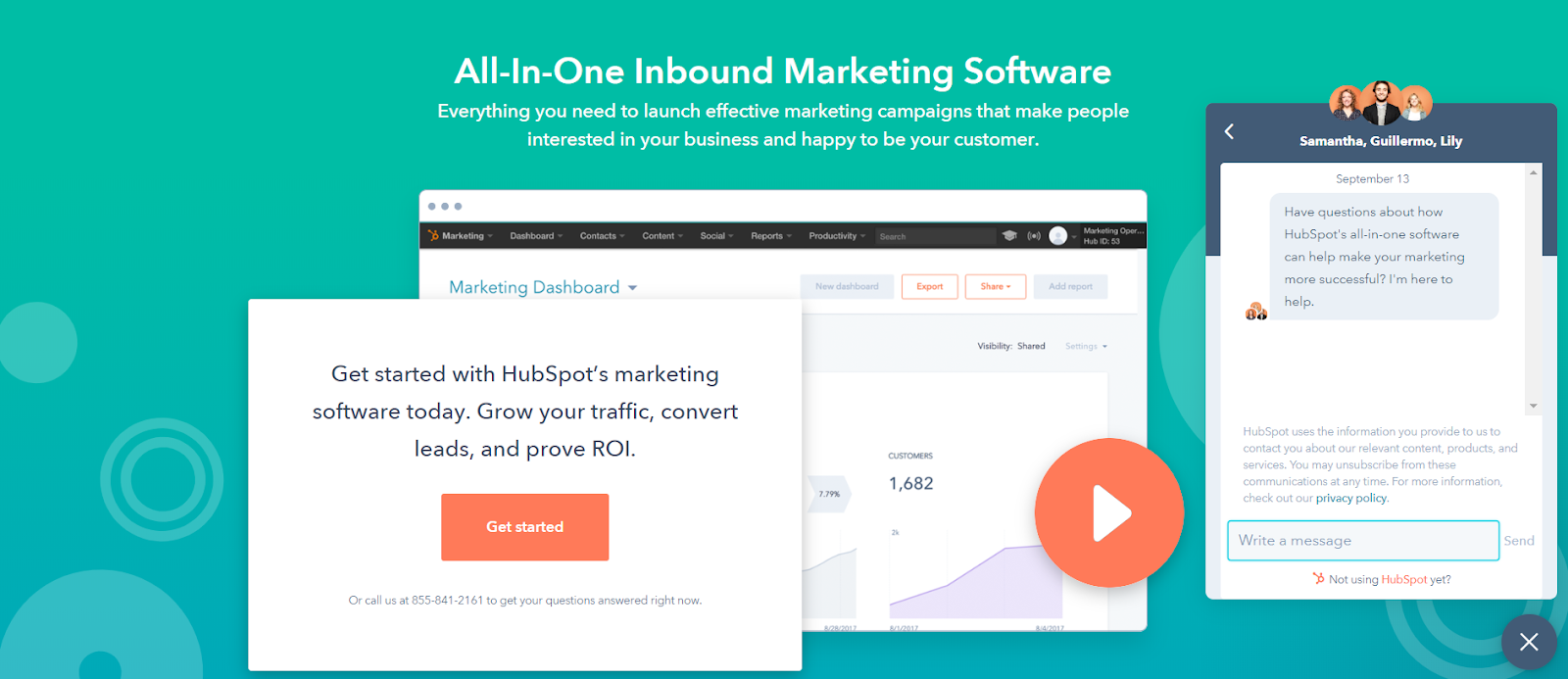 how chatbot generated more qualified leads hubspot