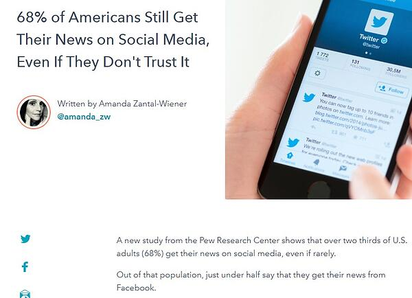 example of a newsjack blog post that features a newsworthy study
